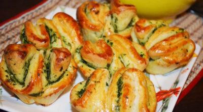 Ароматная вкуснятина с чесноком и зеленью за 25 минут