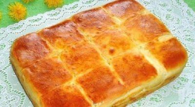 Пирог с сыром, который хочется готовить каждый день
