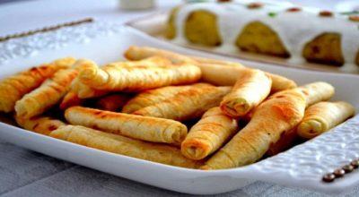 Сигара бёрек: мини-пирожки из лаваша