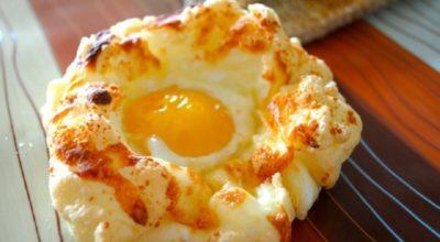 Яйца «Орсини». Очень вкусно и не избито, прямо яичный пирог