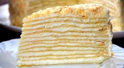 Любимый торт «Наполеон». Классический рецепт