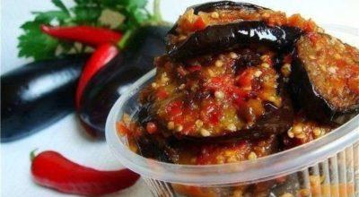 Острый пикантный салат на зиму «Манжо»